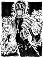 Judge Death by misfitcorner