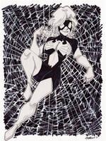 IllustriousBits Week 4 Spider-Woman by misfitcorner