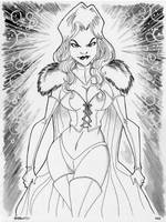 Week 16 - Emma Frost by Andrew Charipar by misfitcorner