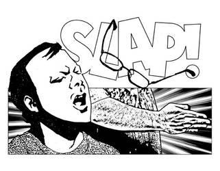 The Slap! by misfitcorner