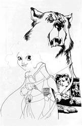 in progress sketch... by misfitcorner