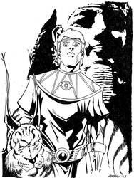 Sketch 003 of 100 Ozymandias by misfitcorner