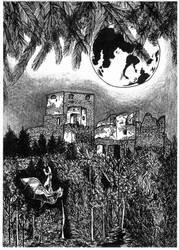 Rabi at the night by Hrbitovanda