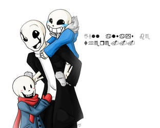 You Felt Your Sans Crawling On Your Back.. by Etilosy