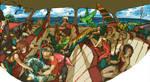 summer swimming class by hira-geco