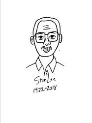 RIP Stan Lee by amos19
