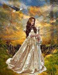 The Sword of my Kingdom by CarmensArts