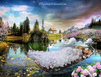 The Lake of my Dreams by CarmensArts