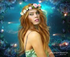 July Flower by CarmensArts