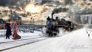 The Train by CarmensArts