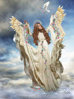 Angel of Spring by CarmensArts