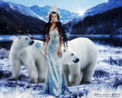 The Queen of Ice by CarmensArts