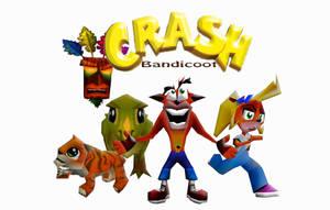 Crash Bandicoot by MeStarStudios