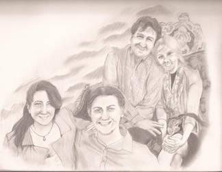 The Shanklin Family by goldensomething