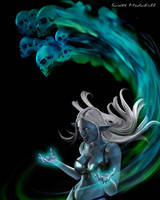 Drow Magic by goatlord51
