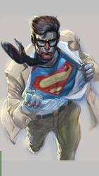 Superman by mannyclark