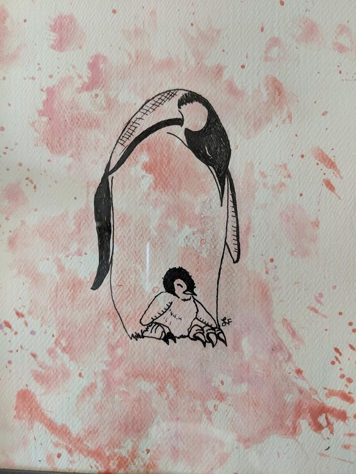 Emperor Penguins by thetelltaleheart