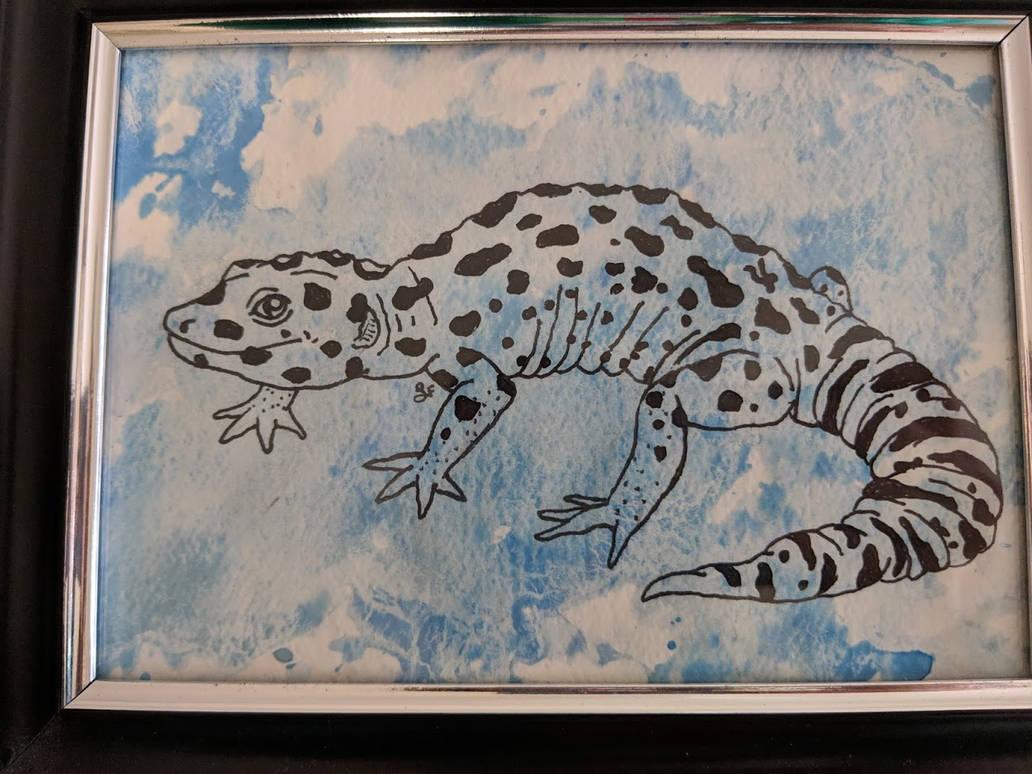 Leopard Gecko by thetelltaleheart