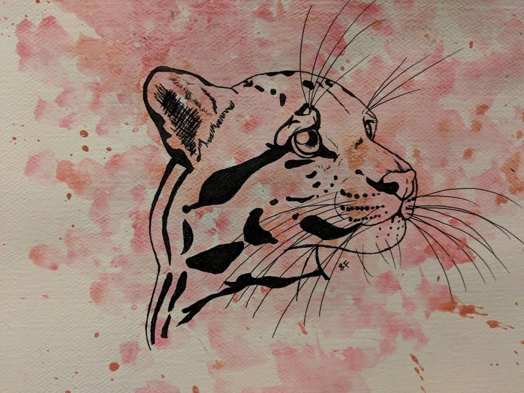 Clouded Leopard by thetelltaleheart