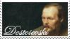 Dostoievski Stamp by waterlenna