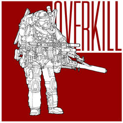 Overkill I by SkipperLee