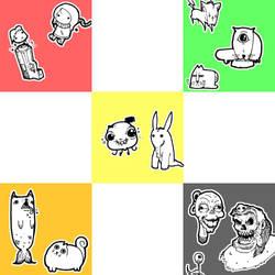 Doodle Puke 1 by SkipperLee