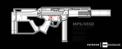 MP5/45SD by SkipperLee