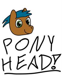 pony doodle by Tarukai