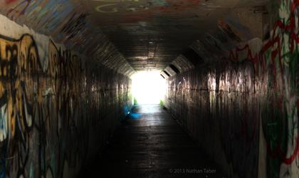 Tunnel light by Tarukai