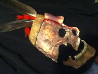 Taino skull mask by karrish