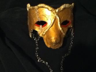 Gold mask by karrish