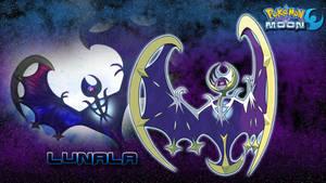 Pokemon Moon: Lunala Wallpaper by piplupwater