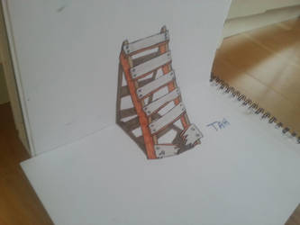 Impossible ladder. by zycklone
