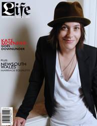 L-Life Magazine Cover by natosaurus