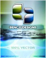 BENCY DESIGNS Logo v2 by Benjamin-Dandic
