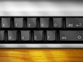 Keyboard Buttons by Benjamin-Dandic
