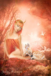 Fawns by TwilitesMuse