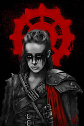 Commander Lexa by JuliaMoskvina