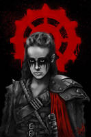 Commander Lexa by JuliaMoskvina