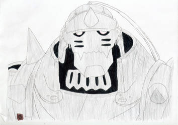 Alphonse Elric by Hempukumaru
