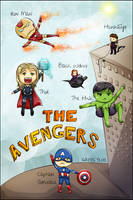 The Avengers! :) by LesioletteChrysanthe