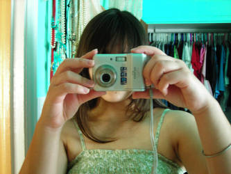 Hiding Behind the Camera by xstarfallx