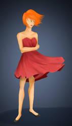 Red Dress by JacobyBeckz