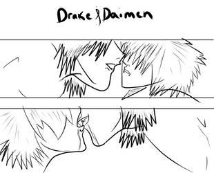 Drake and Damien redone by SoubixLoveless