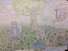 Draw my Oc contest (coloured) by Liprugo