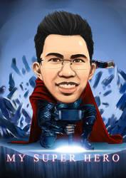 My Super Hero by AlexanderDefeo