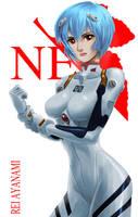 Rei Ayanami by AlexanderDefeo