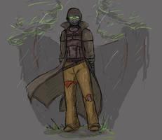 Desert ranger by zetsumeininja