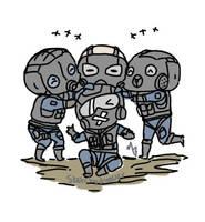 Chibi Siege team by zetsumeininja