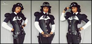 Wild West Steampunk (Lady Jacqueline) by MakeupSiren